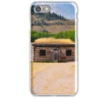 Bannack Ghost Town Jail iPhone Case/Skin