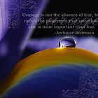 Purple~ Macro Waterdrop Wall Art by bfphotoart