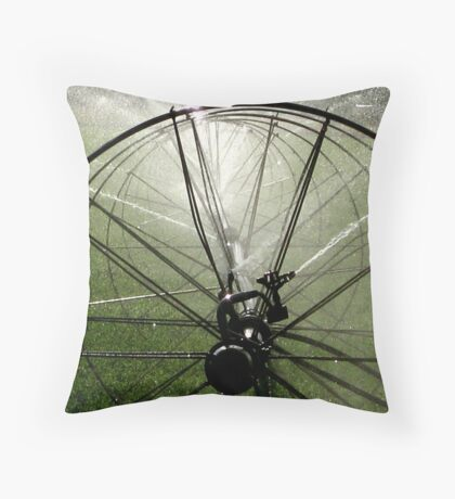 Sprinklers  - Light Throw Pillow