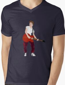 Marty Mcfly - Back to the Future Guitar legend  Mens V-Neck T-Shirt