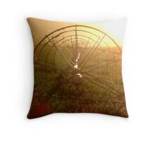Sprinklers - Sunrise Throw Pillow