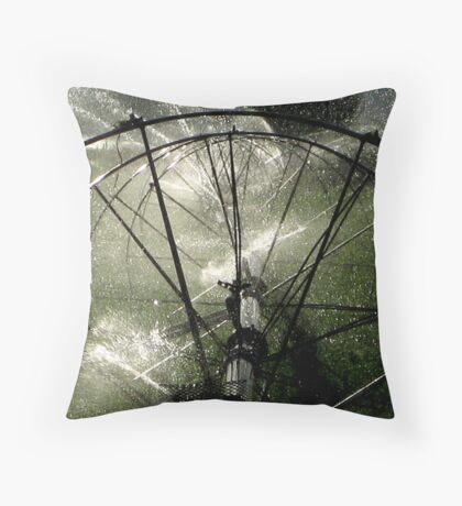 Sprinklers - Modern Throw Pillow