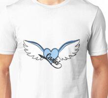 Castiel Blue Wings Unisex T-Shirt