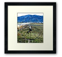 Sprinklers - Blue Mountains  Framed Print