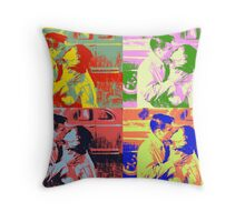 Holly and Sam - Breakfast at Tiffany's Throw Pillow