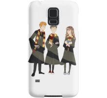 ron, harry, and hermione Samsung Galaxy Case/Skin