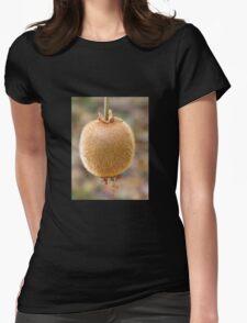 Kiwi Fruit Womens Fitted T-Shirt