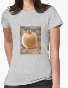 Kiwi Fruit Womens Fitted T-Shirt