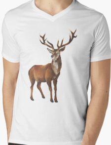 Grand Stag Mens V-Neck T-Shirt