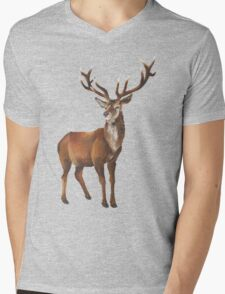 Grand Stag Mens V-Neck T-Shirt