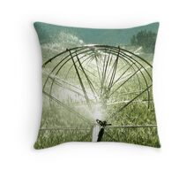 Sprinklers  -  Seeds Rising  Throw Pillow