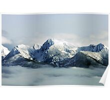 Mountians Clearing Poster