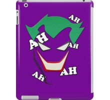 Batman - Joker AH AH AH AH AH iPad Case/Skin
