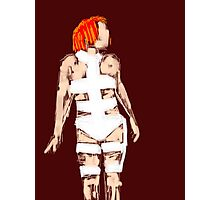 Leeloo Fifth Element - iconic film sketches Photographic Print