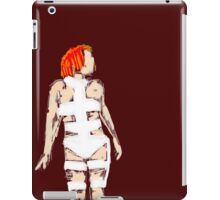 Leeloo Fifth Element - iconic film sketches iPad Case/Skin