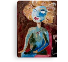 Fine Lady (Feeling like an Alien) Canvas Print