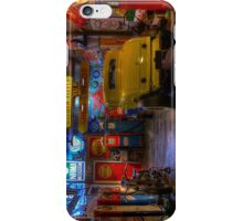 Hot Rod Garage 1 iPhone Case/Skin