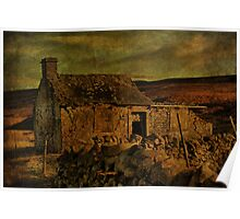 A Run-Down Barn In The Dales Poster