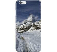 matterhorn iPhone Case/Skin