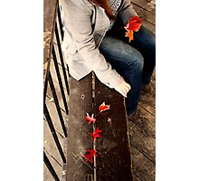 Lonely Autumn Photographic Print