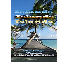 ISLANDS - Challenge Winner Banner Photographic Print