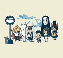 Studio Ghibli - All Characters by Miyazaki Mixed  by emapremo