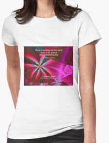 True Friendship Womens Fitted T-Shirt