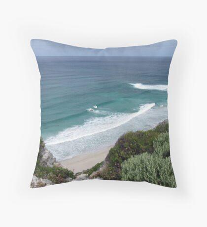 Contos Beach, Western Australia Throw Pillow