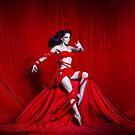 Devil in red by kellyanndoll
