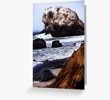 Cambria Beach Greeting Card