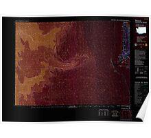 USGS Topo Map Washington Ilwaco 241645 1980 100000 Inverted Poster