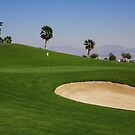 Taba Heights Golf Resort Hole 5 Par 4 by Helen Shippey