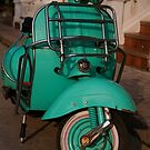 Vespa, Luang Prabang by Syd Winer