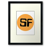 Library Geek - Sci Fi  Framed Print