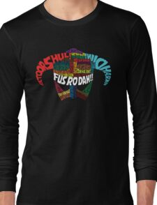 Powered by words! Long Sleeve T-Shirt