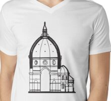 Duomo Cathedral Florence Mens V-Neck T-Shirt