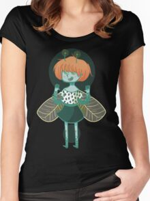Insect Fairy  Women's Fitted Scoop T-Shirt