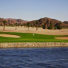 Taba Heights Golf Resort Hole 3 Par 3 by Helen Shippey
