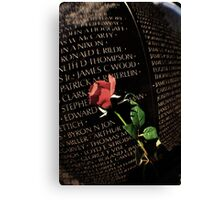 Death is Never Dead Canvas Print
