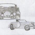 MORGAN CAR FOR MICHAEL by LadyE