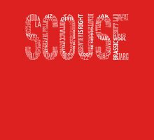 Scouse Liverpool Typography  Unisex T-Shirt