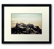 On the Top II Framed Print