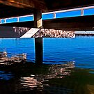 Under the pier by Andrew (ark photograhy art)