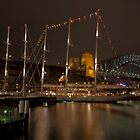 Sydney Night Views by Malcolm Katon