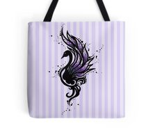 Tribal Black Swan Tote Bag