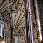A Bishop's Crock & Hat - Winchester Cathedral by NeilAlderney