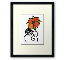 Part Two - A delicate inspiration Framed Print