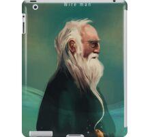 Wire man iPad Case/Skin