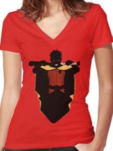 Batman's Robin, Damien Wayne  Women's Fitted V-Neck T-Shirt