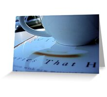 the language of community Greeting Card